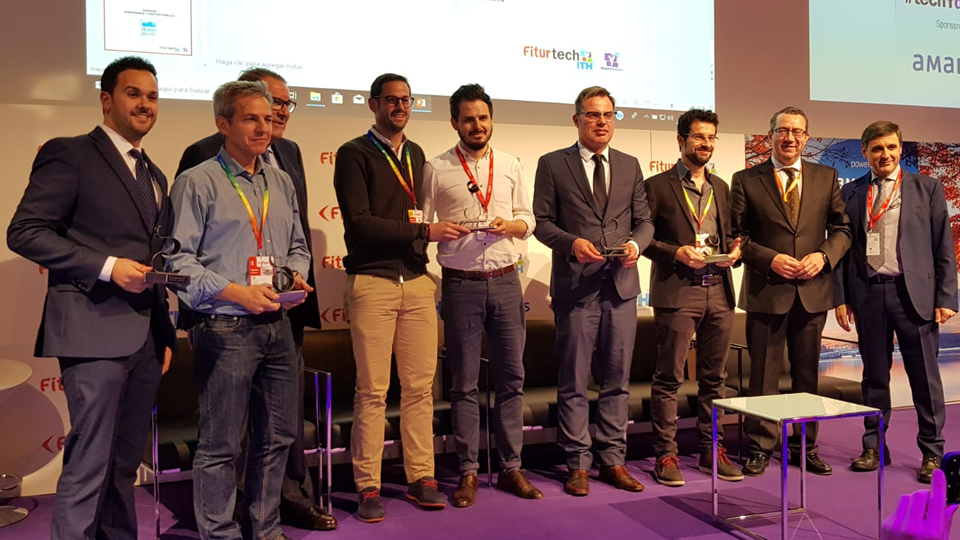 EISI HOTEL premiada en los ITH Smart Destinations Awards en Fitur 2019.