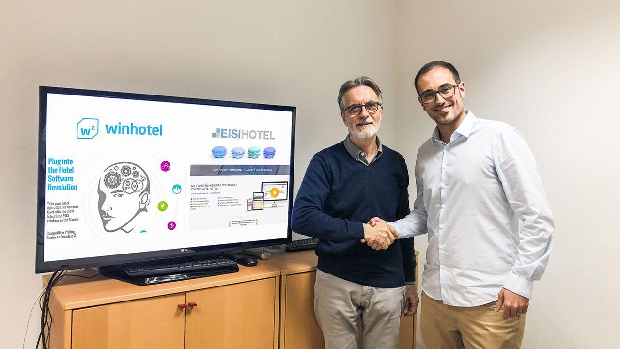 EISI SOFT acuerda con Winhotel solution la integración de EISI HOTEL con su PMS.