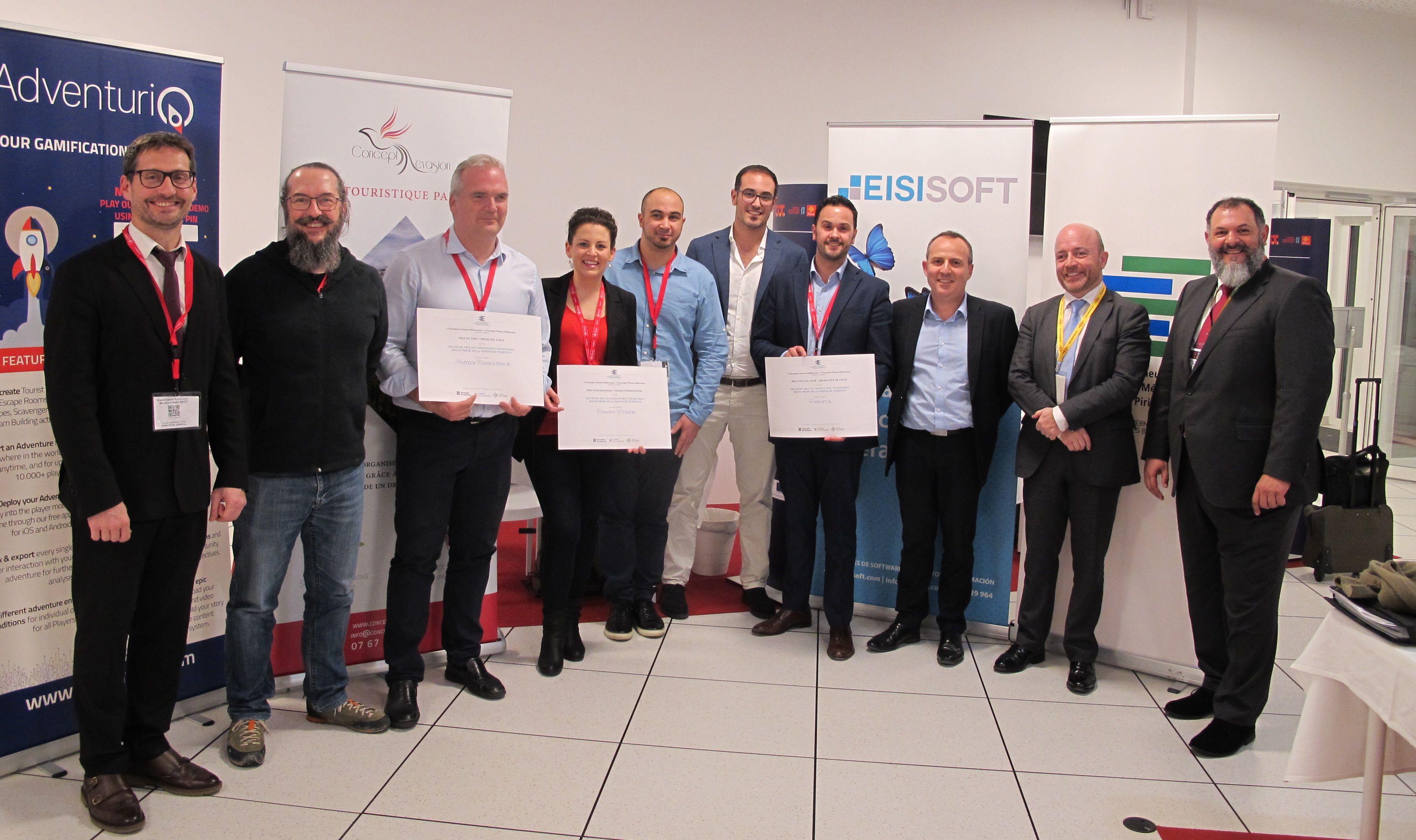 EISI SOFT entre los ganadores de los premios de innovación turística 2019 de la Eurorregión Pirineos Mediterránea.